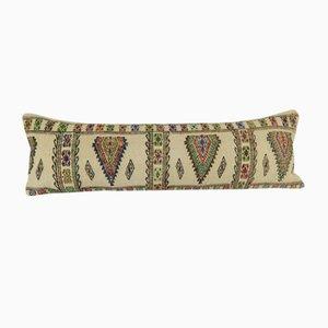 Striped Queen Boho Woven Bedding Kilim Cushion Cover