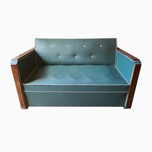 Vintage French Sofa Bed, 1940s