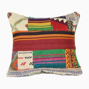 Patchwork Turkish Kilim Cushion Cover