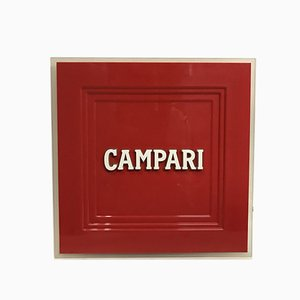 Red Camapi Lamp, Italy, 2000s