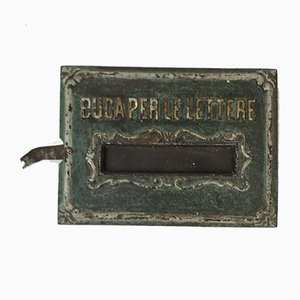 Cast Iron Letter Box, Italy, 1900s