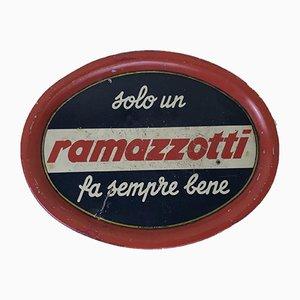 Ramazzotti Tin Tray, 1950s