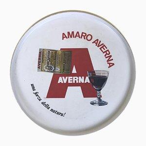 Italian Amaro Averna Plastic Tray, 1970s