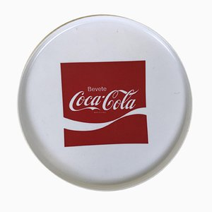 Coca-Cola Tablett aus Kunststoff, Italien, 1970er
