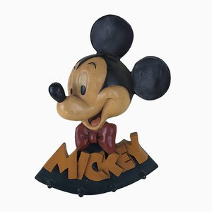 Fiberglass Mickey Mouse Coat Rack for Disney, Holland, 1990s