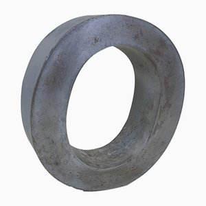 Metal Letter O Sign, Italy, 1970s