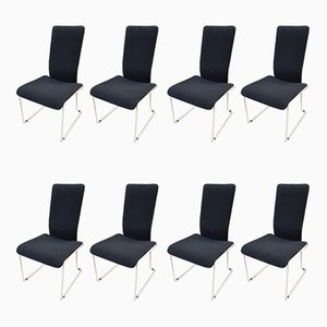 Dining Chairs, 1980s, Set of 8