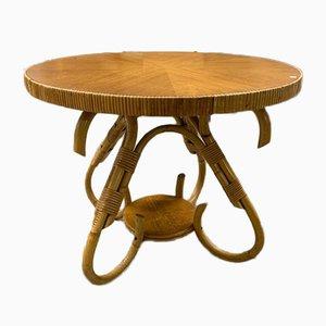 Rattan Coffee Table, 1960s