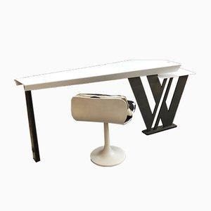 Schreibtisch aus Metall, 1990er