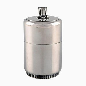 Swedish Lidded Silver Container by Tore Eldh, 1956