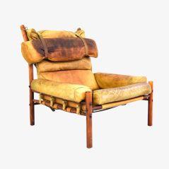 Inka Sessel von Arne Norell für Norell Möbel AB, 1970er