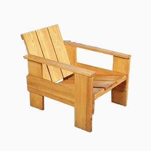 Armlehnstuhl von Gerrit Rietveld für Cassina