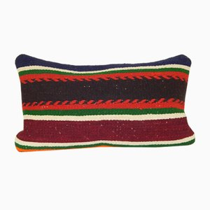 Striped Colorful Kilim Cushion Cover