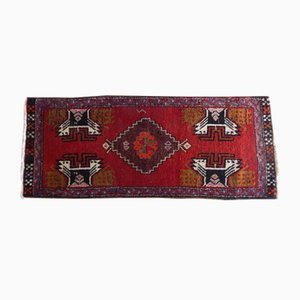 Small Vintage Turkish Oushak Rug, 1970s