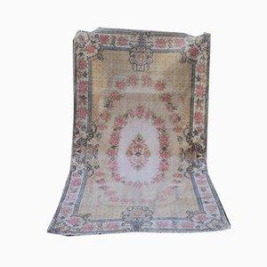 Türkischer Handgeknüpfter Sparta Teppich aus Wolle, 1970er