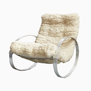 Mid-Century Rocking Chair from Hans Kaufeld, 1970s