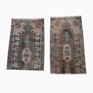 Turkish Oushak Rugs, 1970s, Set of 2