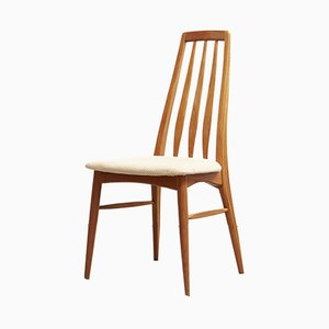 Danish Eva Dining Chairs by Niels Koefoed for Hornslet Møbelfabrik, 1970s, Set of 5