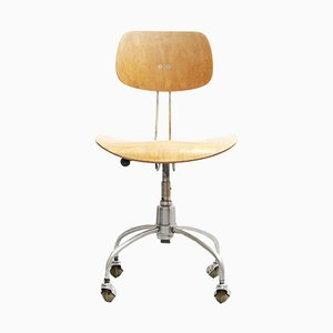 Mid-Century Model SE 40 Swivel Chair by Egon Eiermann for Wilde+Spieth