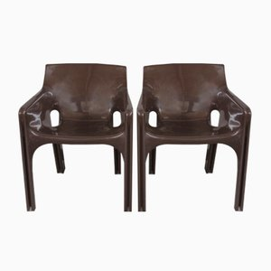 Gaudi Armchairs by Vico Magistretti for Artemide, 1970s, Set of 2