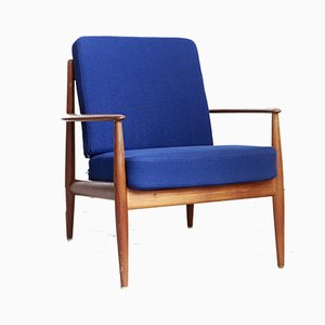 Mid-Century Model 118 Easy Chair by Grete Jalk for France & Søn / France & Daverkosen, 1960s