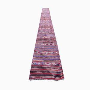 Vintage Handmade Kilim Runner Rug, 1970s