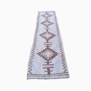 Vintage Kurdish Kilim Runner Rug, 1970s