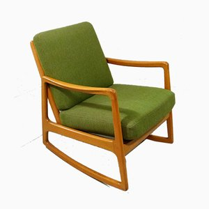 Danish Model 120 Rocking Chair by Ole Wanscher for France & Søn / France & Daverkosen, 1950s