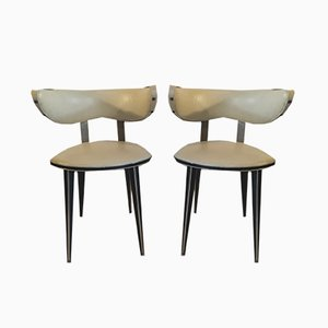 Mid-Century Dining Chairs by Mascagni, Set of 2