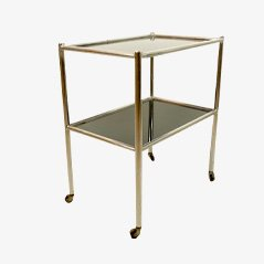 Bauhaus Metal & Glass Serving Trolley
