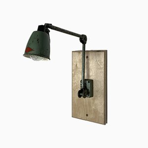 Vintage Industrial EDL Factory Sconce, 1930s