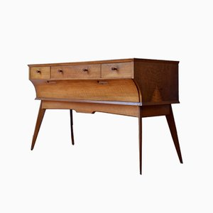 Mid-Century Walnut Sideboard by Alfred Cox, 1960s