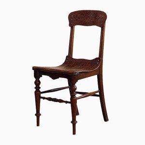 Vintage Schichtholz Esszimmerstühle, 3er Set