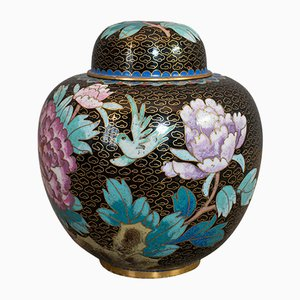 Antique Victorian Oriental Ginger Jar or Spice Urn, 1900s