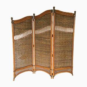 Vintage Bamboo Room Divider, 1970s