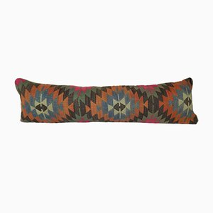 Geometrical Turkish Lumbar Cushion Cover