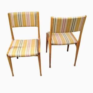 Walnut Model 693 Dining Chairs by Carlo de Carli for Cassina, 1960s, Set of 6