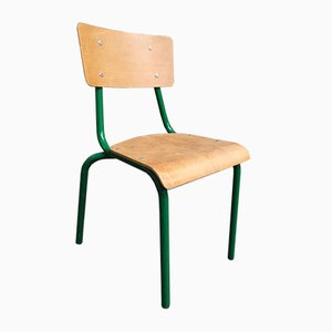 French School Chairs from Mullca, 1960s, Set of 20