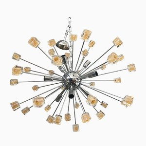 Sputnik Chandelier with Murano Glass by Italian Light Design