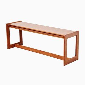 Danish Teak Foldable Side Table, 1960s