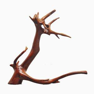 Dragon Shaped Tree Trunk Sculpture, 1960s