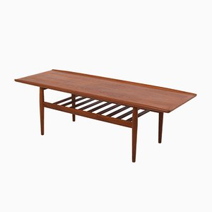 Mid-Century Danish Teak Coffee Table by Grete Jalk for Glostrup