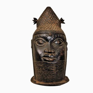Bronze Yoruba Sculpture, 1950s