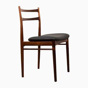 Danish Rosewood Side Chairs by Henry Rosengren Hansen for Brande Møbelindustri, 1960s, Set of 4