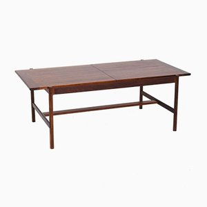 Rosewood Coffee Table by Haug Snekkeri for Bruksbo, 1960s