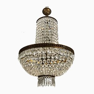 Large Imperial Crystal Chandelier, 1950s