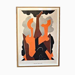 Grand de Bal de Nuit Lithograph by Natalia Gontscharowa, 1926