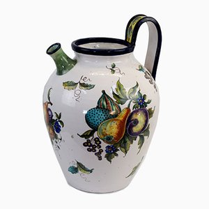 Large Italian Ceramic Jug from Ginori, 1930s
