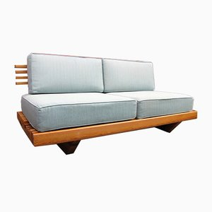 Vintage Sofa in the Style of Perriand, 1970s