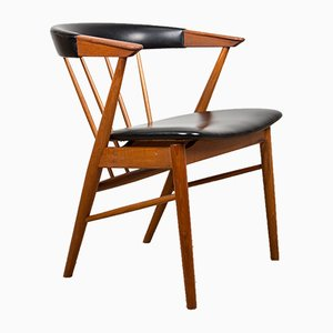 Danish Teak Desk Chair by Helge Sibast for Sibast, 1960s